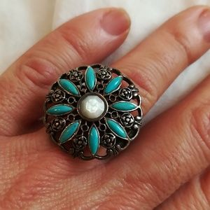 Jewelry - Barse turquoise Ring